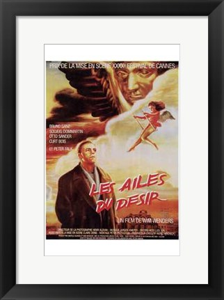Framed Wings of Desire - Angel Print
