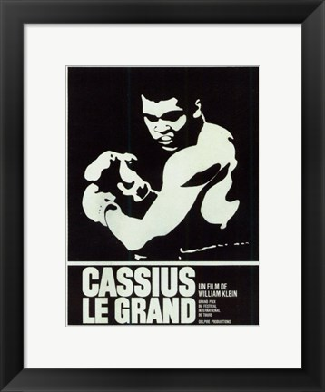 Framed Cassius Le Grand Print