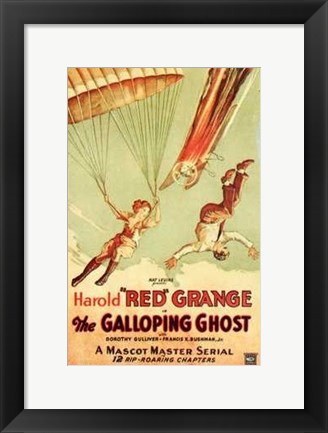 Framed Galloping Ghost Print