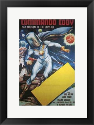 Framed Commando Cody Print