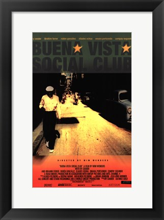 Framed Buena Vista Social Club Print
