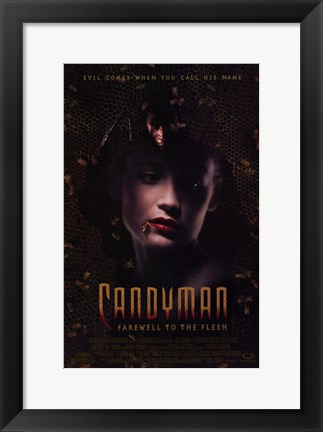 Framed Candyman 2: Farewell to the Flesh Print