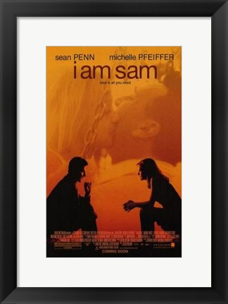 Framed I Am Sam Print