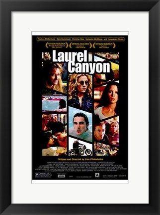 Framed Laurel Canyon Print