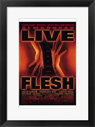 Framed Live Flesh Print