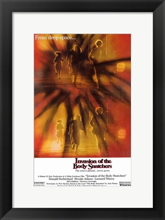 Framed Invasion of the Body Snatchers Running Print