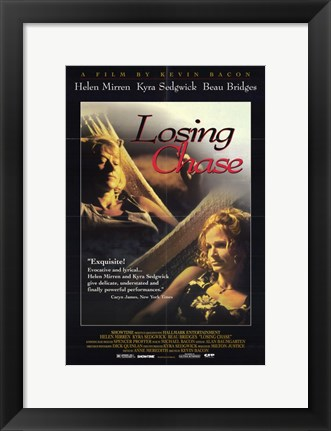 Framed Losing Chase Print