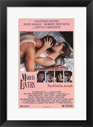 Framed Maria's Lovers Print