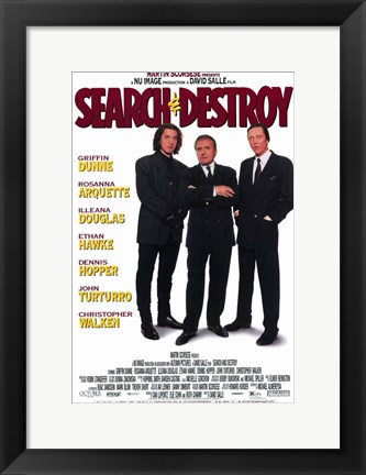 Framed Search and Destroy Print