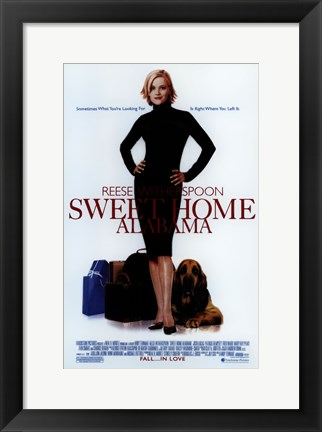 Framed Sweet Home Alabama Print