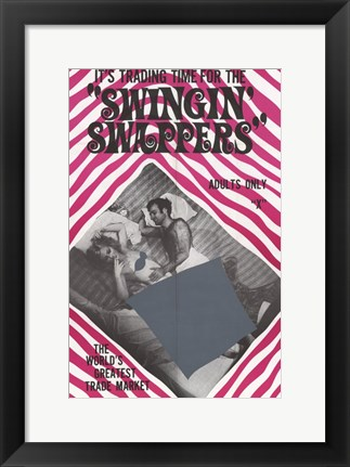 Framed Swingin' Swappers Print