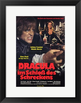 Framed Dracula in the Castle of Blood Print