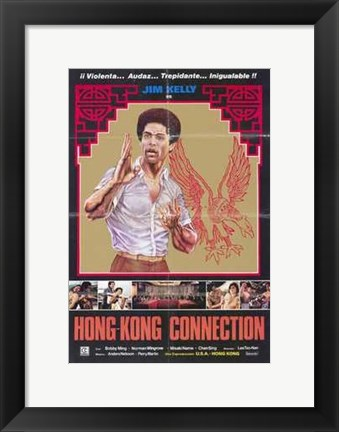 Framed Tattoo Connection Print