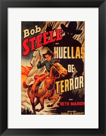 Framed Trail of Terror Print