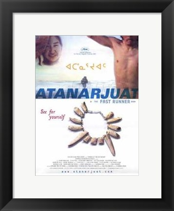 Framed Atanarjuat (the Fast Runner) Print