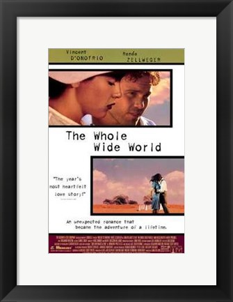 Framed Whole Wide World Print