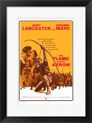 Framed Flame and the Arrow Print