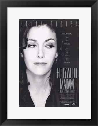 Framed Hollywood Madame Print
