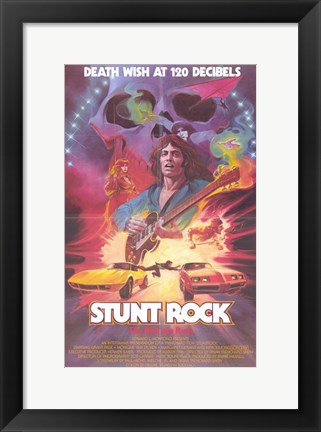 Framed Stunt Rock Print