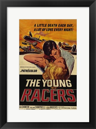 Framed Young Racers Print