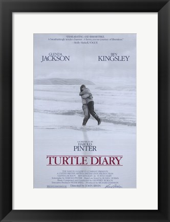 Framed Turtle Diary Print