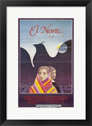 Framed El Norte Print