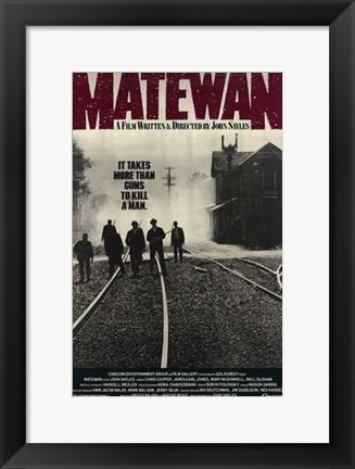 Framed Matewan Print