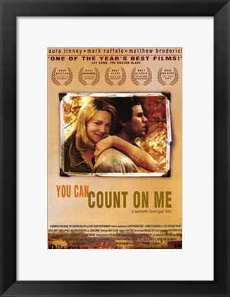 Framed You Can Count on Me Print