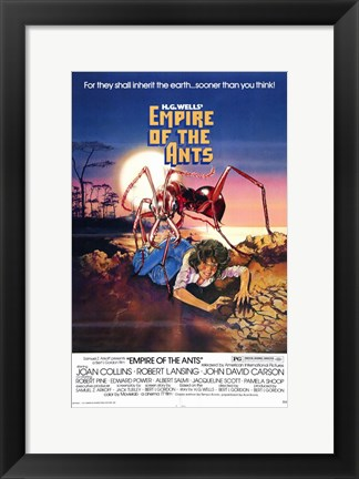 Framed Empire of the Ants Print