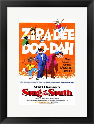 Framed Song of the South Print
