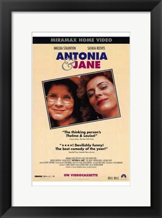 Framed Antonia and Jane Print