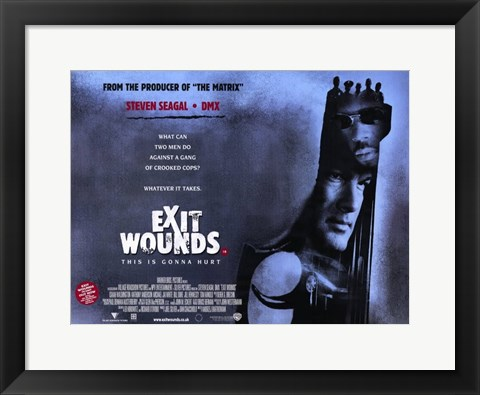 Framed Exit Wounds Print