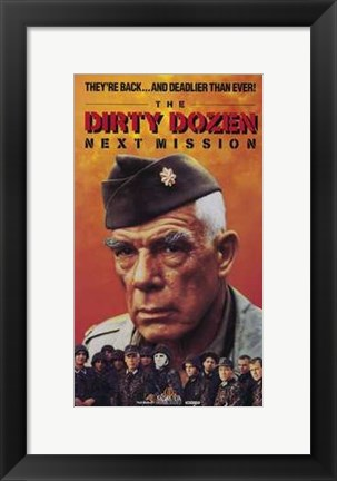 Framed Dirty Dozen: the Next Mission Print