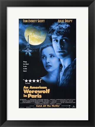 Framed American Werewolf in Paris  an Print