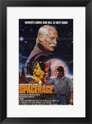 Framed Spacerage Print
