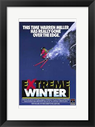 Framed Extreme Winter Print