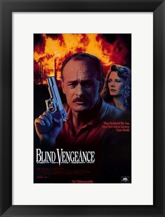 Framed Blind Vengeance Print