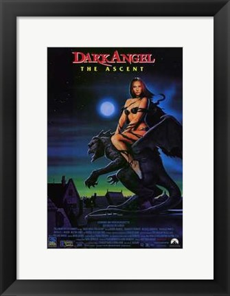 Framed Dark Angel: the Ascent Print