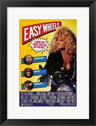 Framed Easy Wheels Print