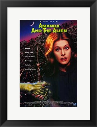 Framed Amanda and the Alien Print