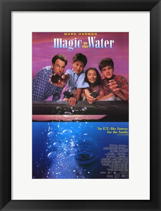 Framed Magic in the Water Print