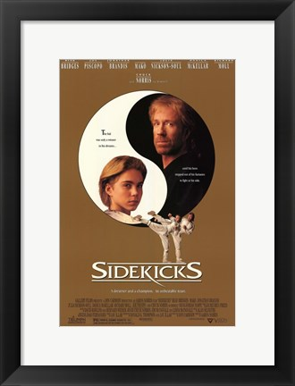 Framed Sidekicks Print