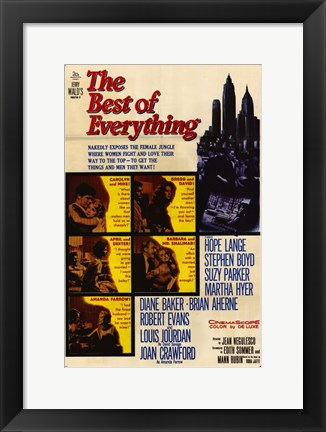 Framed Best of Everything Print