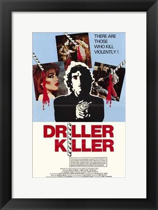 Framed Driller Killer Print