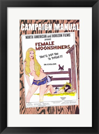 Framed Female Moonshiners Print