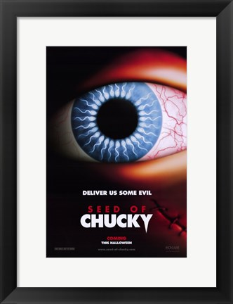 Framed Child's Play 5: Seed of Chucky Print