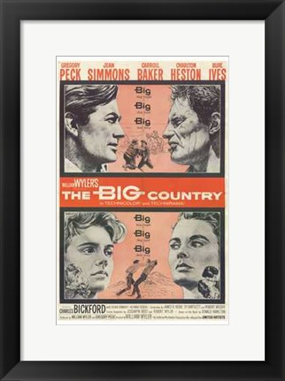 Framed Big Country Print