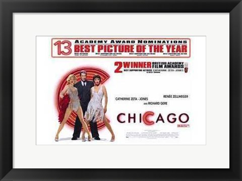 Framed Chicago Best Picture of Year Print
