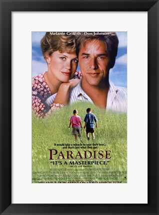 Framed Paradise Movie Print