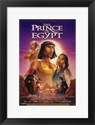 Framed Prince of Egypt Movie Print
